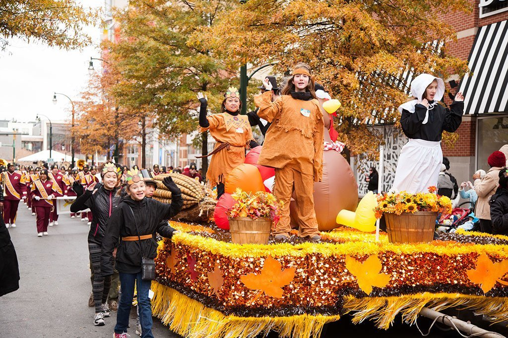 Downtown Silver Spring Thanksgiving Parade