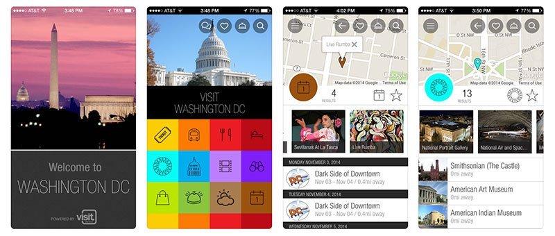 Washington DC Apps